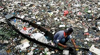 Hvor mye plast havner i havet?