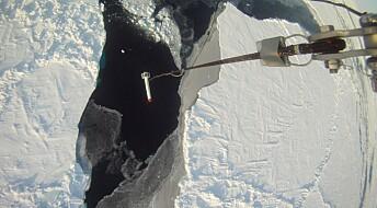 Bilder fra satellitter kan gi mer presise kart over sjøisen i Arktis