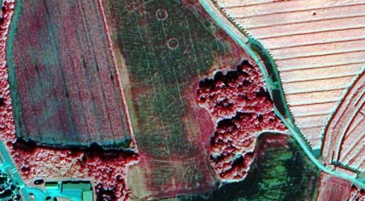 Satellitt og laser avdekker kulturminner