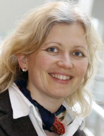 - Lærere som fikk utviklet egen kompetanse, oppga i større grad at de syns egen helse var god, sier Yvonne Lagrosen ved Universitetet Väst. (Foto: privat)