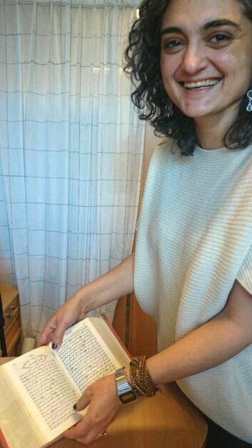 Rana Hisham Issa disputerer snart for avhandlingen om arabiske bibeloversettelser. (Foto: Marianne Nordahl)