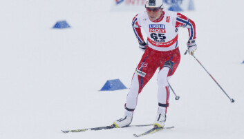 Marit Bjørgen er kjent for å ha ein sterk og uthaldande overkropp. Det var ikkje nok på tysdagens 10-kilometer. Men på stafetten i dag... (Foto: Terje Bendiksby, NTB Scanpix)