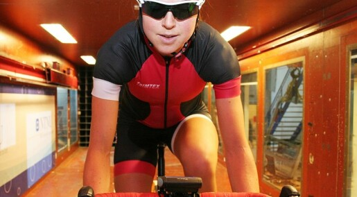 Syklister vinner tid med nye drakter