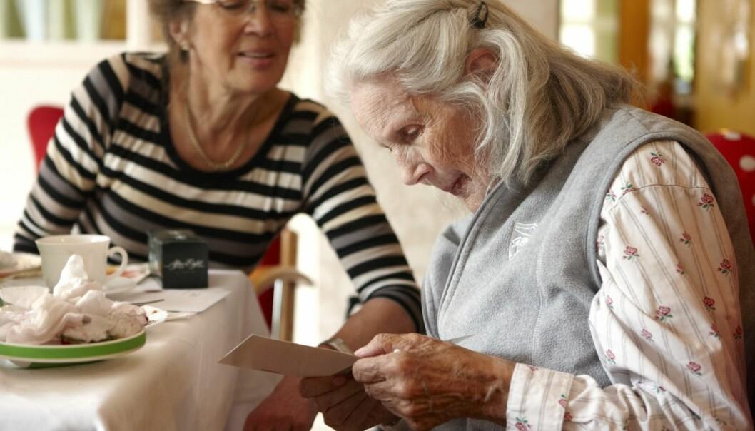 I dag er 70 000 nordmenn rammet av demens. (Foto: Samfoto)