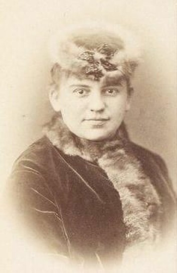 Stjernen Josefine Gallmeyer. Kilde: gallica.bnf.fr