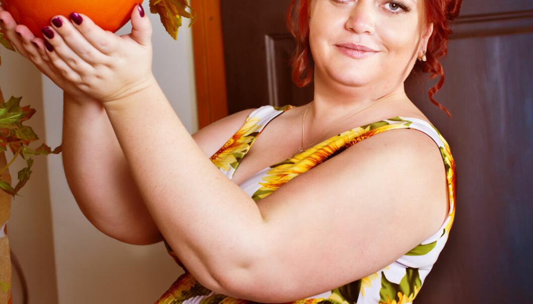 Både for lav og for høy vekt under graviditeten kan være uheldig for fosteret.  (Illustrasjonsfoto: Microstock)