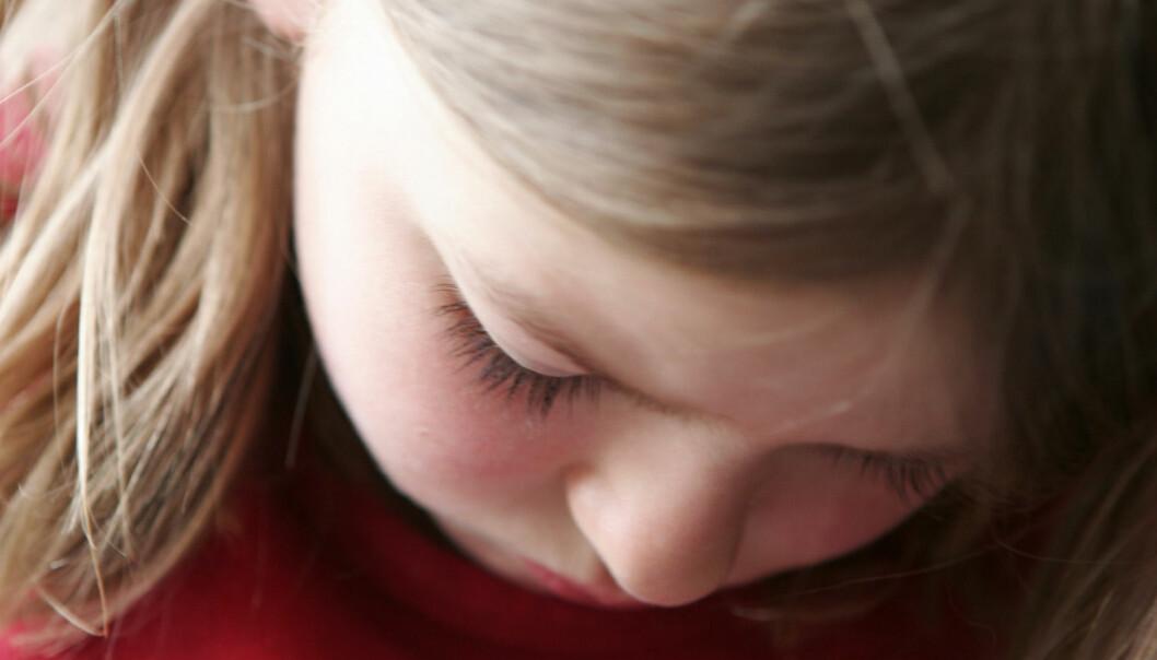 Grovt sett kan vi dele barna som sliter inn i to grupper; den ene sliter med ADHD eller atferdsvansker, mens den andre gruppen lider av angst eller depresjoner, ifølge forskeren. (Foto: NTB Scanpix)