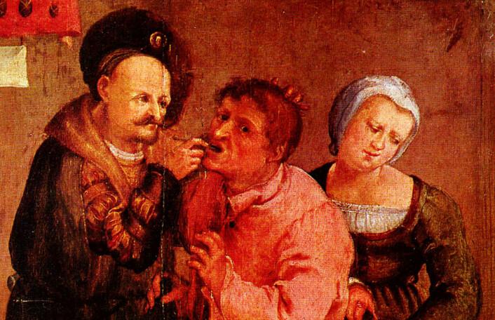 Bonden hos tannlegen. Maleri av Johann Liss, trolig fra 1616 eller 1617. (Foto: (Reproduksjon: Wikimedia Commons, public domain))