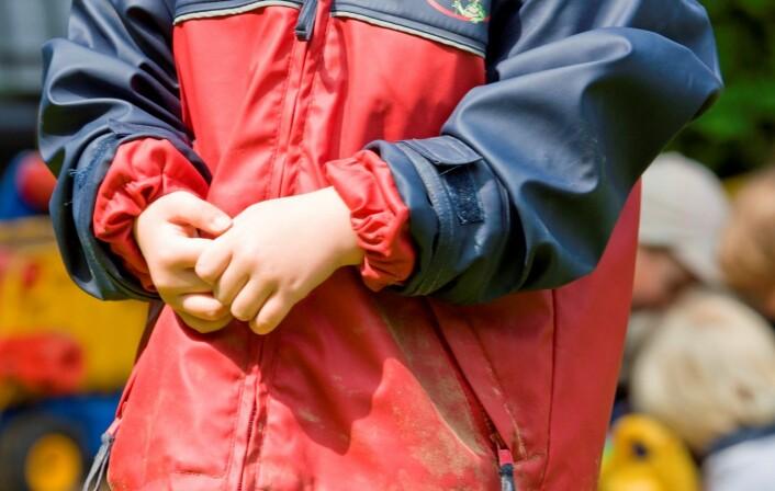 Det er de triste og engstelige barna som har størst problemer i forhold til andre barn. Ikke barna med aggressiv problematferd. Dette overrasket forskerne. (Illustrasjonsfoto: Colourbox)
