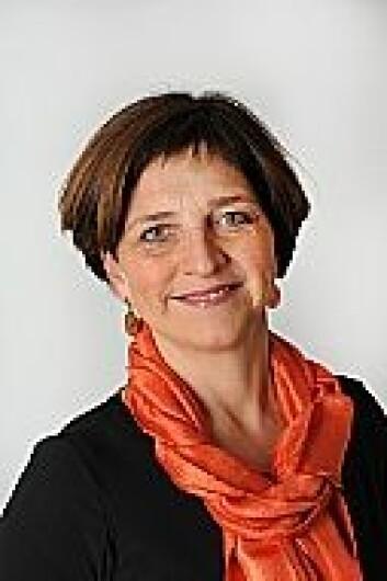 Eli Gunhild By, leder for Norsk sykepleierforbund, mener en mastergrad er den beste etterutdanningen medlemmene hennes kan få. (Foto: Norsk sykepleierforbund)
