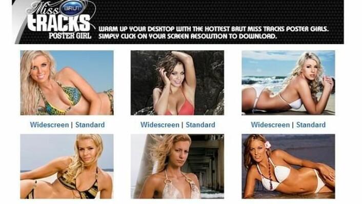 Dette er en side i det australske surfemagasinet Tracks, som har fått mange reaksjoner.  (Foto: (Illustrasjon: Tracks))