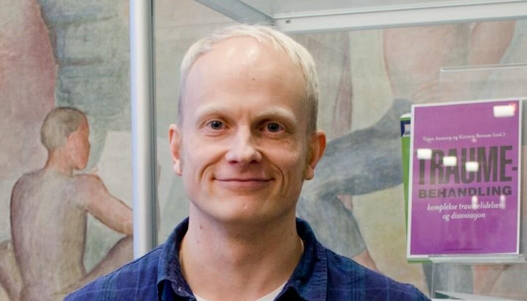 Ole Jacob Madsen liker å undervise, med den store inspirasjonen er forbeholdt forskningen. (Foto: Svein Harald Milde)