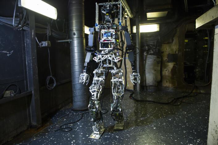 Roboten Saffir.  (Foto: US Navy/John F. William)