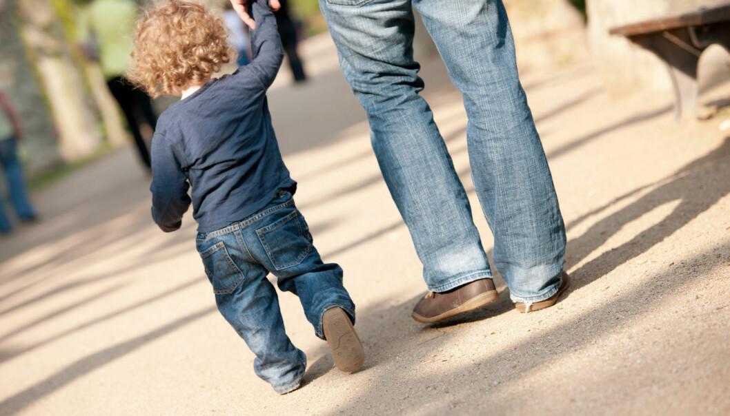Resultatene fra denne studien tyder på at foreldreveiledning for innsatte fedre kan bidra til å forberede dem til livet utenfor fengselsmurene.  (Foto:  Jan Haas, NTB Scanpix)