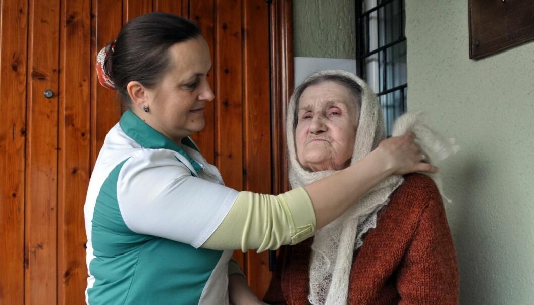 At kvinner som migrerer til utlandet, ofrar barna sine, er er ei vanleg oppfatning i land med mykje kvinneleg migrasjon. I Ukraina blir kvinnene som dreg, ofte møtt med fordømming. (Illustrasjonsfoto: Colourbox)
