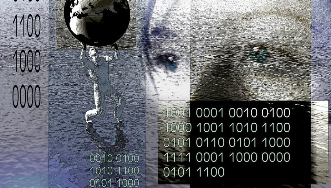 «Big data» samles inn fra Internett. Opplysningene kan blant annet brukes i helseforskning. (Foto: Colourbox)