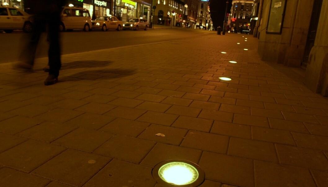 Kan moderne gatebelysning være skadelig for mennesker? (Foto: Knut Fjeldstad, NTB scanpix)