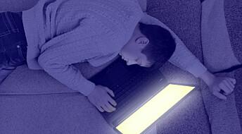 Skjermbruk ødelegger søvn for tenåringer