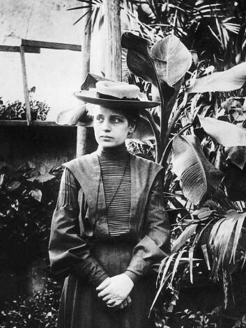 Kjernefysikaren Lise Meitner utarbeidde teorien bak fisjon mens ho var i eksil i Sverige. Meitner var jøde, og måtte flykte frå Hitler-Tyskland.