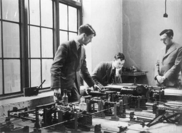 Meccano-analysatoren ved Cambridge i 1937. (Foto: Offentlig eiendom)