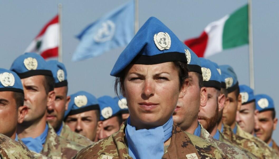 Italienske FN-soldater i Libanon i 2012. (Foto: Reuters, NTB Scanpix)