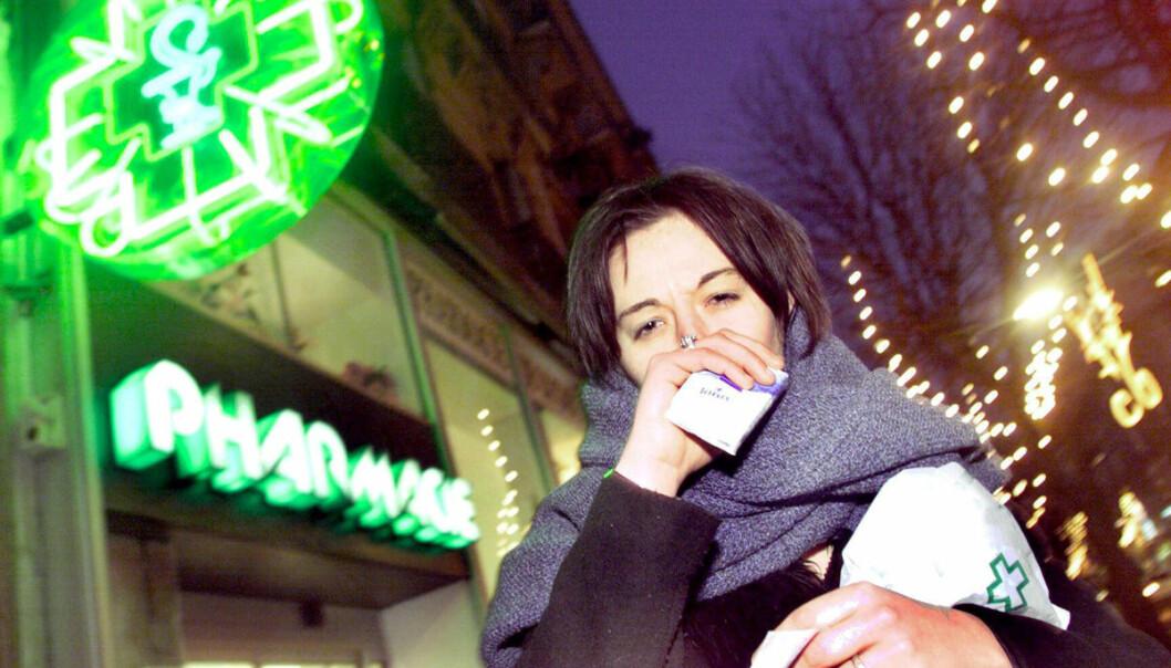Amerikanske forskere har brukt data fra det offentlige helseinstituttet CDC om hvordan smitte spres, til å gjøre tjenesten Google Flu Trends sikrere. (Illustrasjonsfoto: www.colourbox.no)