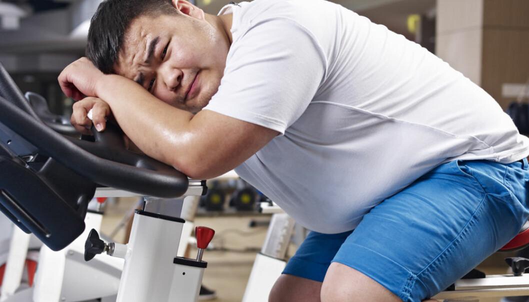 Den harde treningen i begynnelsen av livsstilsbehandlingen kan ha hatt en positiv virkning på stive blodårer, men etter et år i behandling var effekten forsvunnet.  (Foto: Microstock)
