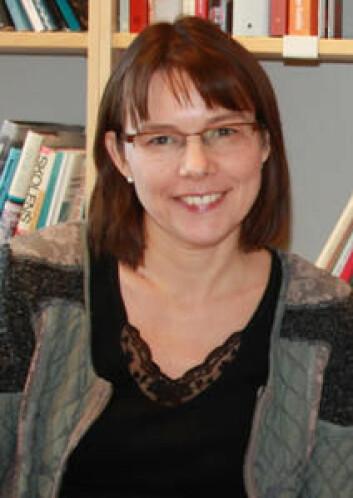 Ida Hatlevik har i sin doktorgradsavhandling studert kompetanseutvikling hos studenter i sykepleier-, lærer- og sosialarbeiderutdanningene. (Foto: HiOA)