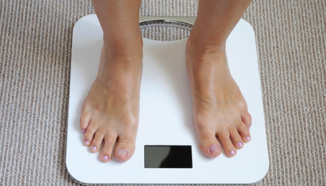 Unge som feilaktig føler seg overvektige, blir ofte fete i voksen alder, viser ny amerikansk studie. (Illustrasjonsfoto: www.colourbox.no)