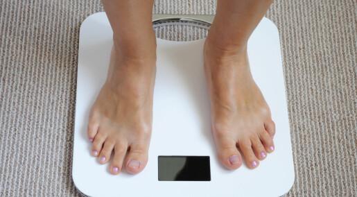 Å føle seg fet kan føre til fedme