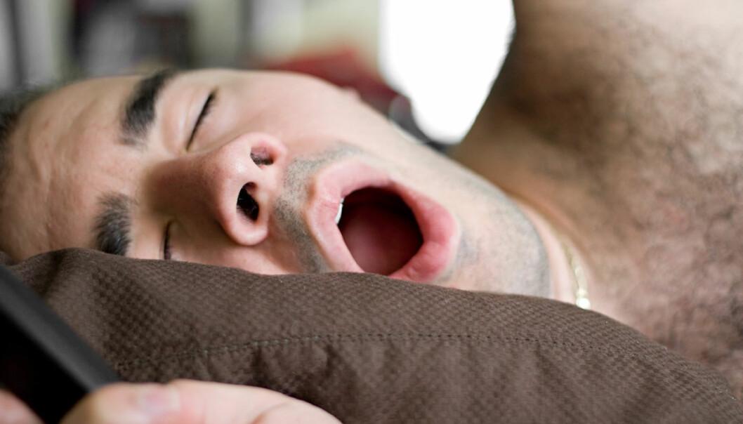 En gruppe hyperaktive mennesker er spesielt utsatt for å være søvnløse, og har minst tre ganger så stor risiko for økt blodtrykk, viser ny kinesisk studie. (Illustrasjonsfoto: www.colourbox.no)