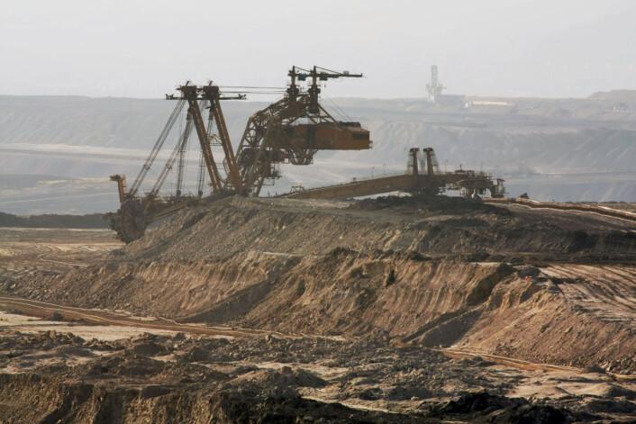 Kinas dramatiske økning i klimagassutslippene handler framfor alt om en ting: mer brenning av kull.  (Foto: Colourbox)