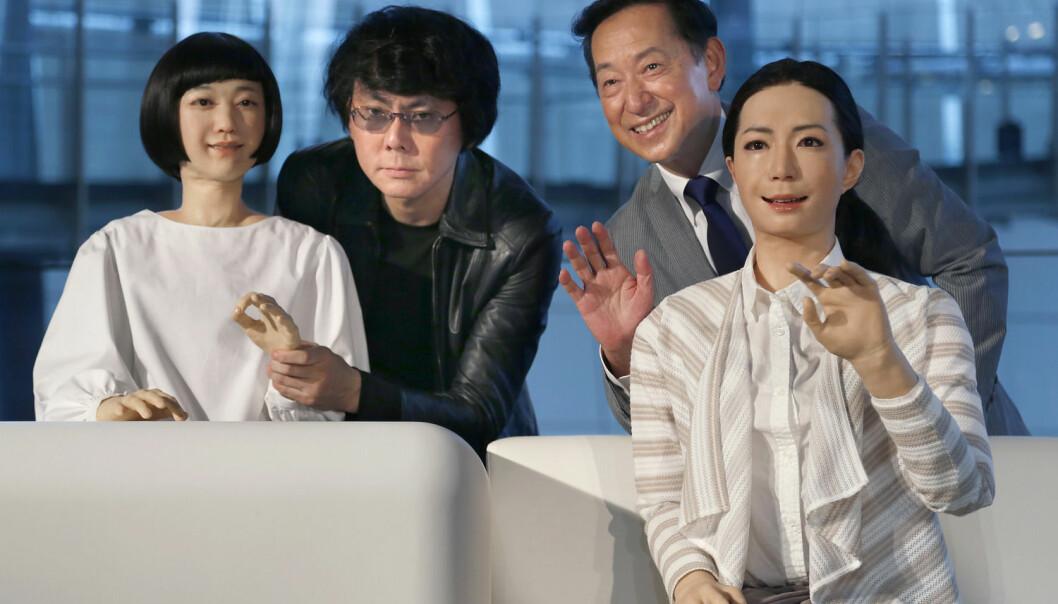 Hva er det med japanere og roboter?