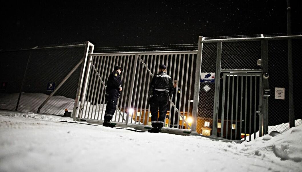 Trandum internat for utlendinger ligner stadig mer på et fengsel. Politiet bruker lignende virkemidler overfor tunge kriminelle og innvandrere uten oppholdstillatelse, hevder forskerne som intervjuet politifolk. (Foto: Thomas Winje Øijord/NTB scanpix)