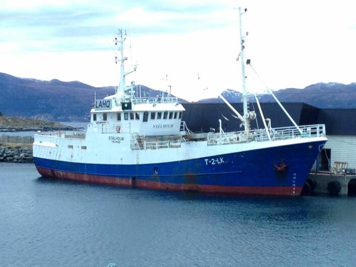Slik så båten ut før den ble bygd om til kraftverk. (Foto: Havkraft AS)