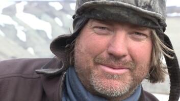 Jørn Hurum er klar for to nye sesongar med utgravingar på Svalbard. (Foto: Atlantic Productions)
