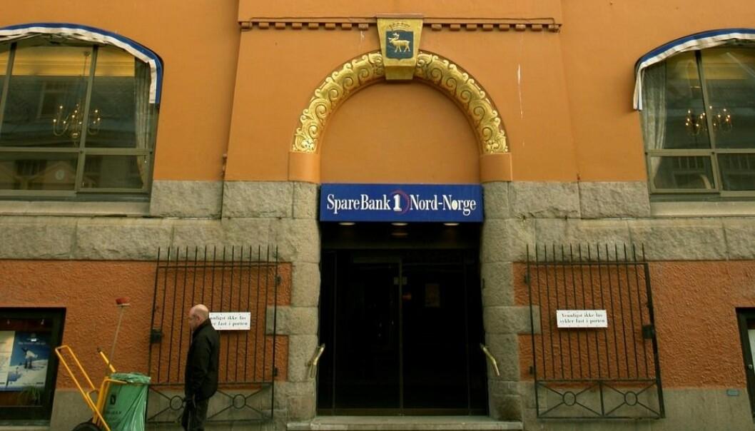 Tromsø Sparebank ble bygget i 1880. I dag benytter Sparebank 1 Nord-Norge deler av bygget. (Foto: Jens Sølvberg, Samfoto)
