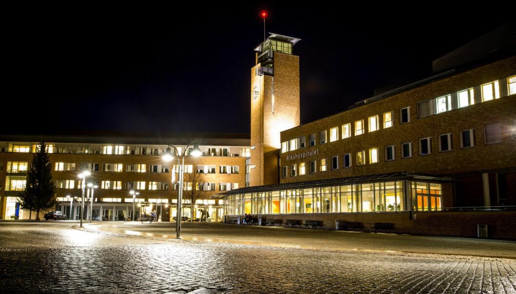 I september i fjor fikk Oslo universitetssykehus stadig flere innleggelser av barn med alvorlige luftveissymptomer. (Foto: Erlend Aas, NTB Scanpix)
