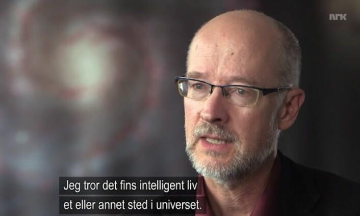 (Bilde: Fra NRK Schrødingers Katt 8. januar 2015).