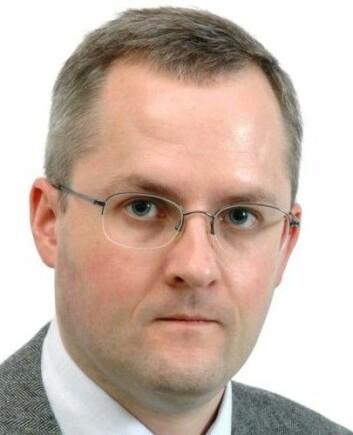 Jan Oskar Engene har sitt spesialområde innen terrorisme, europeisk integrasjon, politiske symboler.   (Foto: UiB)