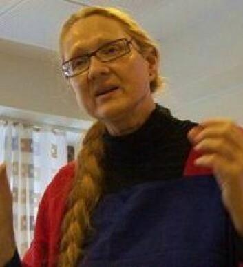 Evelin Gerda Lindner forsker på verdighet, ydmykelse og krenkelse.  (Foto: UiO)