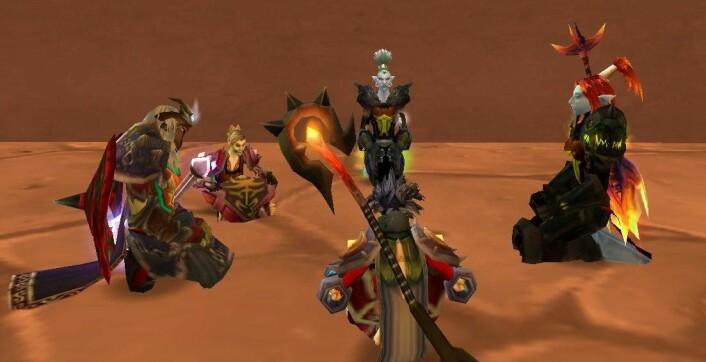 I spill som World of Warcraft kan du lage din egen digitale personlighet.