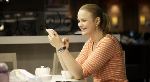 Engstelige uten smarttelefon