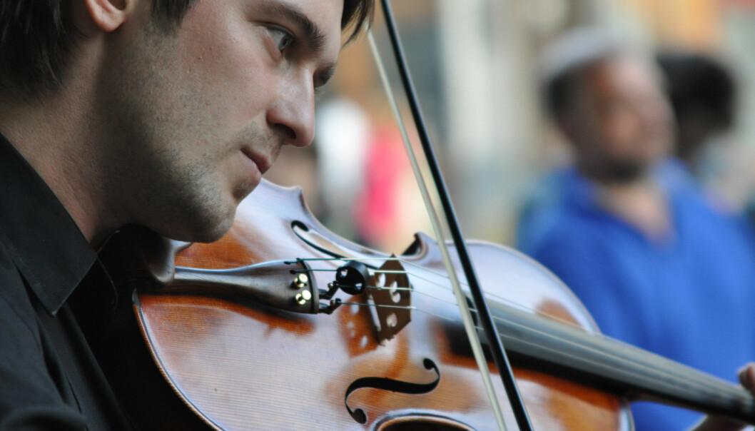 Musikere er oftere flinke til å kjenne igjen én enkelt tone enn oss andre. (Foto: Colourbox)