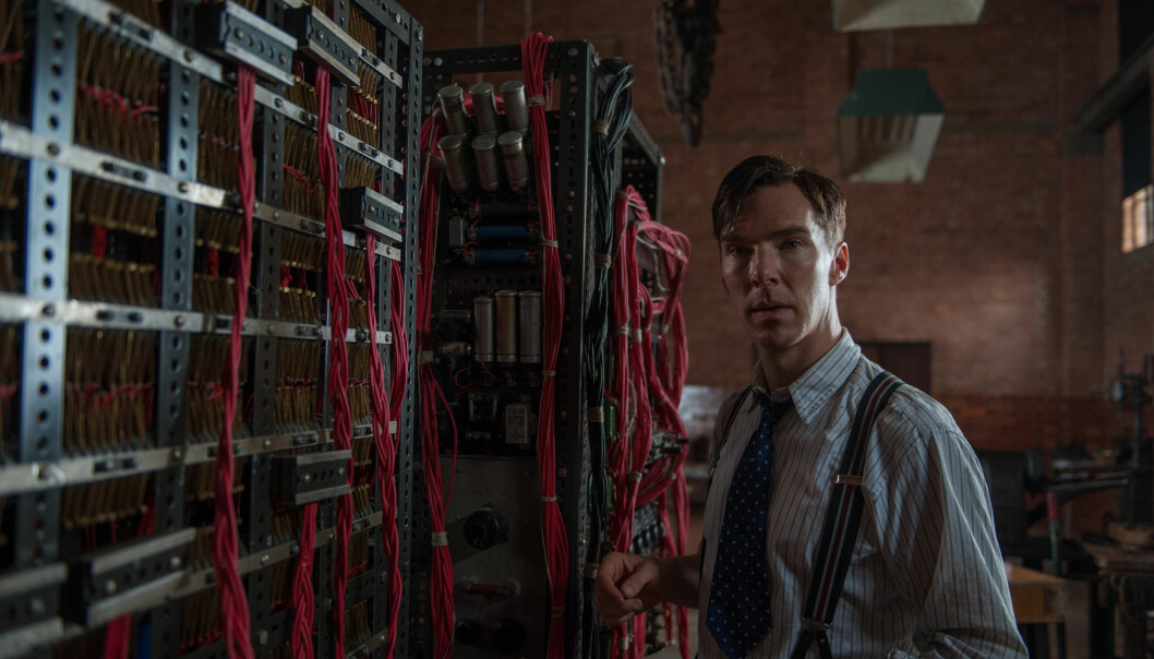 "Alan Turing blir spilt av Benedict Cumberbatch i ""The Imitation Game"". (Foto: The Weinstein Company/ SF Norge)"