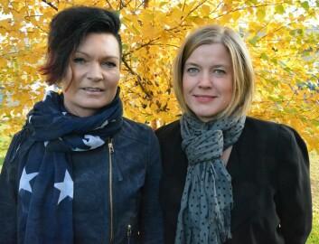 Fra venstre Siri Ramberg Stav og Siv-Mari Forsmark. (Foto: HiNT)