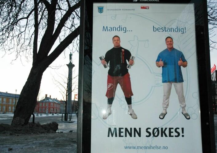 Fra den første promoteringen av <em>Menn i helse</em> i mai 2011. (Foto: Frode Rønsberg)