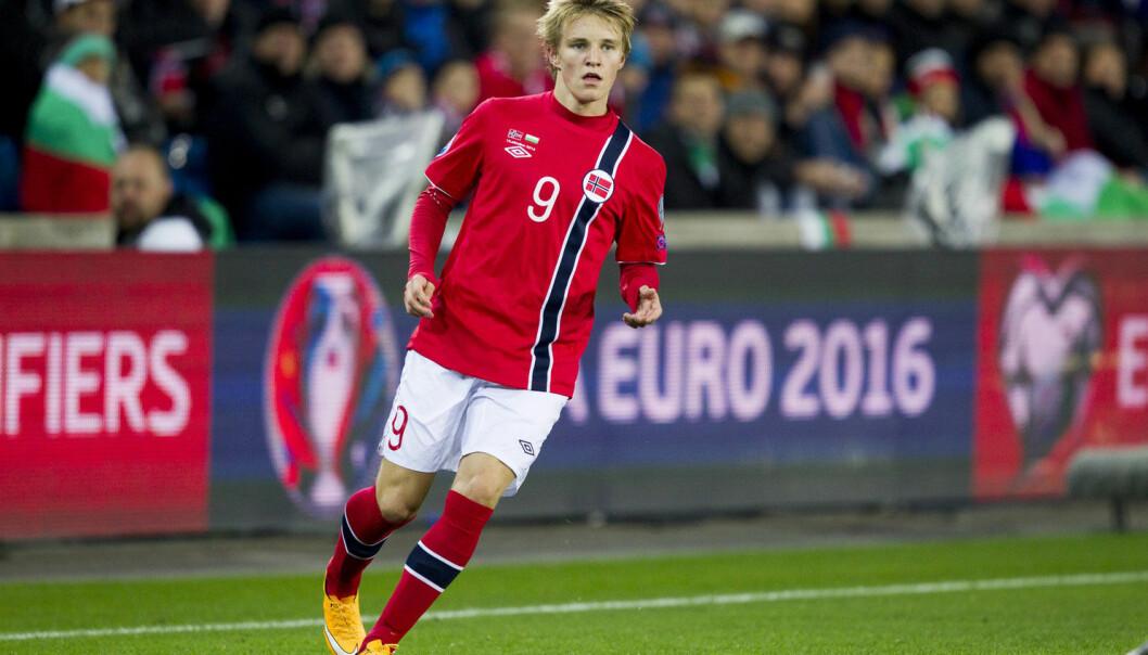 Martin Ødegaard (16 år) er tidenes yngste tippeligaspiller, tidenes yngste målscorer i tippeligaen og tidenes yngste landslagsspiller. (Foto: Vegard Wivestad Grøtt/Scanpix)