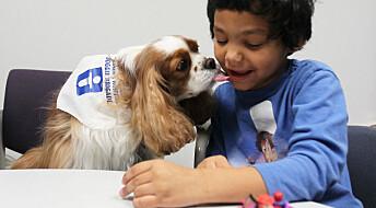 Barn med autisme er knyttet til kjæledyret sitt