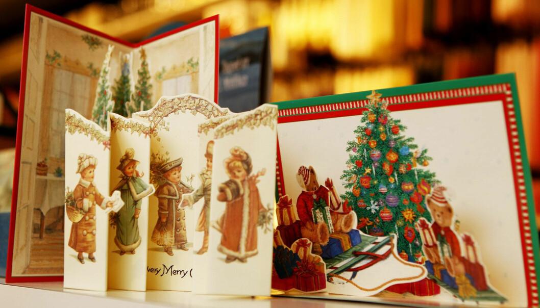 Hvor mange julekort sendte du i år? (Foto: Håkon Mosvold Larsen, NTB Scanpix)